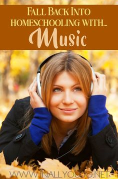Homeschooling with music can be rewarding on so many levels. Here are some great tips to help you add music to your homeschool this year! Homeschool Curriculum, Homeschooling, Autumn Activities For Kids, Music Activities, Teaching Music, School Fun, School Ideas, Music Lessons, Music Education