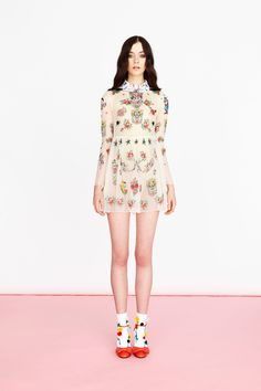 Surrealism Goes Sweet in Vivetta's Resort 2016 Collection - Gallery - Style.com