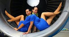21 Slightly Racy Photos Of The Hottest Female Cabin Crew The Airlines Tried To Ban! Flight Attendant Hot, Airline Attendant, Onur Air, Flight Deck, Cabin Crew, Working Woman, Virgin Atlantic, Girl Humor, Sexy Legs