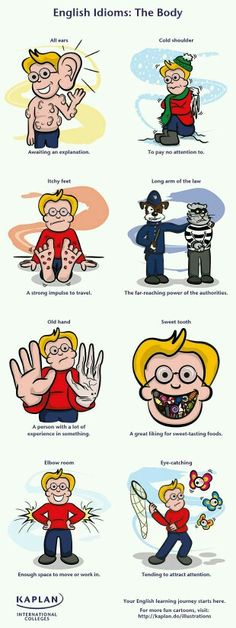 English Idioms: The Body