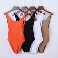 Size Bust Waist Length S M L Bikinis Women European Style Elastic Halter 4 Colour 2017 Bikini New Bathing Suits Beach Wear Maillot Biquini Mulher Cute Swimsuits, Women Swimsuits, Black One Piece Jumpsuit, White Jumpsuit, White Romper, Short Jumpsuit, Summer Outfits, Cute Outfits, Vetement Fashion
