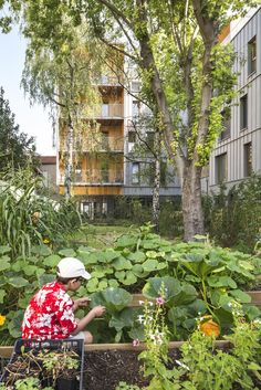Completed in 2017 in Montreuil, France. Images by Sergio Grazia. The building takes its inspiration from the street where it takes place (Lebour) to generate an atmosphere like in a village. Located all around a...