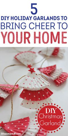 5 DIY Holiday Garlands To Bring Cheer To Your Home