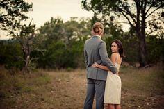 Rustic, Hill Country wedding #brideandgroom