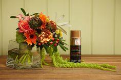 Autumn bouquets+design master=perfection! #ubloom #jschwanke #metallic #colortool #ubermatte #justforflowers #tintit #itsOKtospray #coloryourworld #spraytips #paint #create #thecaninyourhand #sprayeveryday