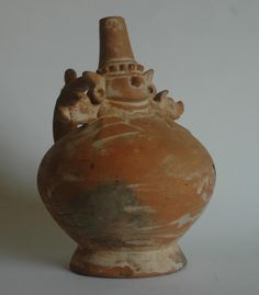Lambayeque brownware vessel