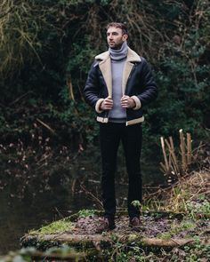 Styling Out The Cold in a Shearling Jacket
