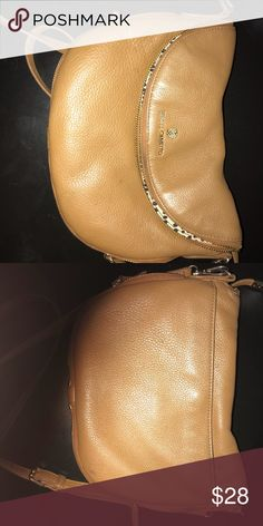 $$$$ VINCE CAMUTO CROSSBODY $$$$ Vice Camuto Crossbody Purse , Tan/ Beige / Brown color Vince Camuto Bags Crossbody Bags