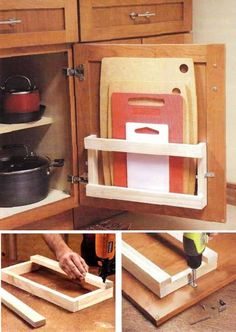 How to build cool Kitchen storage Racks step by step DIY tutorial instructions…