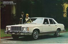 1976 Ford Granada Ghia Four Door Sedan