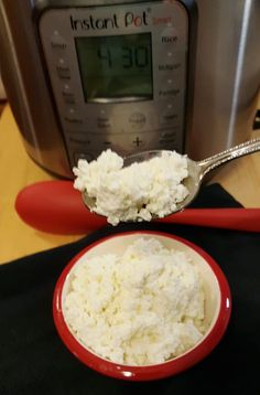 Instant Pot Homemade Cottage Cheese Recipe Image