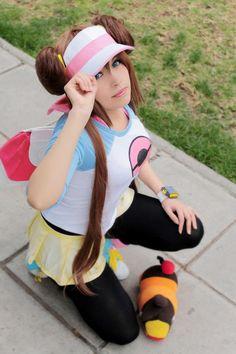 Pokemon black and white cosplay