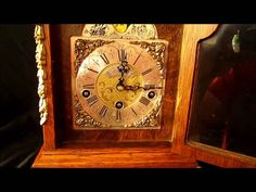 Warmink Westminster Bracket Clock With Rolling Moon Phase For Sale... http://cgi.ebay.co.uk/ws/eBayISAPI.dll?ViewItem&item=390722717656