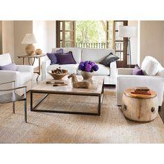 Square Parquet-Top Coffee Table - Wisteria - $999.00 - domino.com