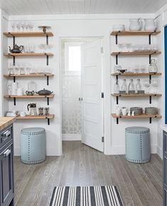 Ideen zur Aufbewahrung in der Küche für kleine Räume #aufbewahrung #ideen #kleine #kuche #raume