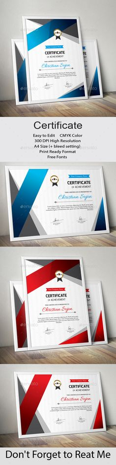 Certificate Stationery Printing, Stationery Templates, Stationery Design, Print Templates, Web Design, Print Design, Graphic Design, Print Print, Certificate Design