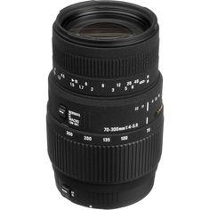 Good Zoom lense option $170.00 Can also do MACRO.  Sigma 70-300mm f/4-5.6 DG Macro Lens for Canon EOS