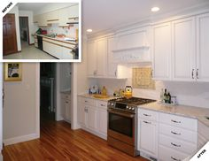 Image result for kitchen before and after photos