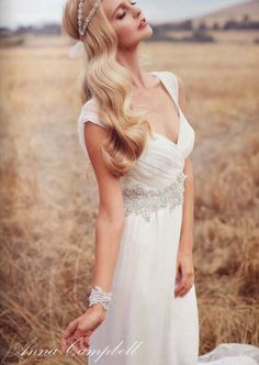 Wedding Dresses by Anna Campbell - Forever Entwined Collection | bellethemagazine.com