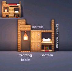 Minecraft Houses Survival, Minecraft Cottage, Easy Minecraft Houses, Minecraft House Tutorials, Minecraft Houses Blueprints, Minecraft House Designs, Minecraft Decorations, Minecraft Tutorial, Minecraft Crafts