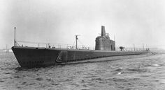 USS Redfish SS- 395 - Built Portsmouth Navel Shipyard, Kittery, Maine..  Commissioned 1944,  Decommissoned 1968,  Sunk off San Diego, 1969.
