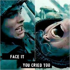 Video: Ghost of You, My Chemical Romance. Setting: WWII. Mikey Way dies storming the beach; Gerard Way can do nothing to help. Face it, you cried too.
