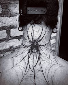 Spider Tattoo by Felipe Kross