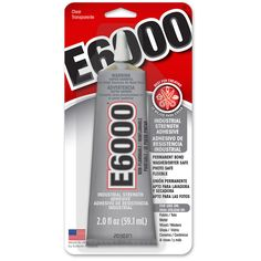 E-6000®. -Hot glue is great for decorative and jewelry projects, but it isn't the most durable or adhesive glue out there. If it gets too hot, it will weaken again. You can find extra-strength hot glue at some craft stores, but hot glue isn't the answer to all of your adhesive prayers (looking to stick some glass to some metal? How about some plastic to some wood? Try E-6000 instead).
