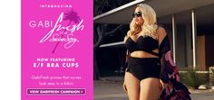 #plussize #swimwear {Sexy Saturday} Plus Size Swimsuits from GabiFresh and SwimSuits For All | Pretty Pear Bride | Purchase here: http://bit.ly/1w7RXxO