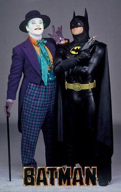 Batman (Michael Keaton) / Joker (Jack Nicholson)*