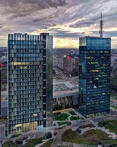 Belgrade Serbia, Skyscraper, Multi Story Building, Skyscrapers
