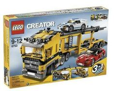 Black Friday 2014 LEGO Creator Highway Transporter from LEGO Cyber Monday. Black Friday specials on the season most-wanted Christmas gifts. Lego Creator Sets, The Creator, Ikea Ps, Lego City Police, Lego System, Lego Toys, Buy Lego, Custom Lego, Lego Pieces