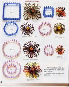 formes diverses, fleurs différentes