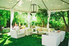 Nathan Pickett Films, back yard wedding done perfectly