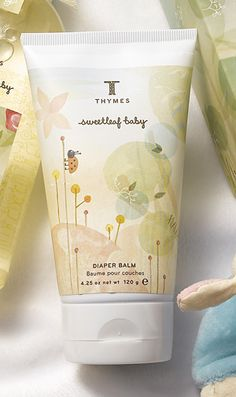 Pin-It-To-Win-It: Thymes Sweetleaf Baby Diaper Balm
