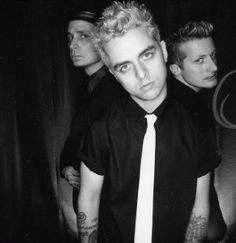 Green Day...back in Billy Joe's blonde days. :)
