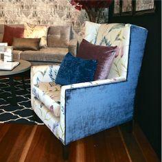 Design Art House custom made Kennedy Armchair. www.designarthouse.com.au Home Art, Custom Made, Design Art, Armchair, House, Furniture, Home Decor, Sofa Chair, Decoration Home
