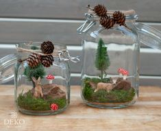 DIY: pretty autumn decoration with homemade fly agarics - Deko-Kitchen - Decorations & Holiday Decor Romantic Home Decor, Classic Home Decor, Hippie Home Decor, Gothic Home Decor, Cute Home Decor, Home Decor Signs, Retro Home Decor, Easy Home Decor, Diy Halloween Decorations