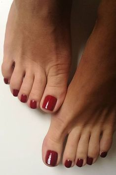 only feet toes sexy women Pretty Toe Nails, Cute Toe Nails, Sexy Nails, Pretty Toes, Toe Nail Art, Red Toenails, Toe Nails Red, Milky Nails, Painted Toe Nails