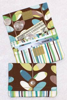 The Wonder Wallet from Lazy Girl Designs... hmm, I wonder how I could tweak this project?