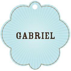 Baby boy names: Gabriel.