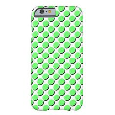 Trendy iPhone Case with Shadow Polka Dots, Lime Green & Black on White; shadows give a 3-D effect Select CUSTOMIZE to choose your case from a number of iPhones, iPads, or other phone brands.