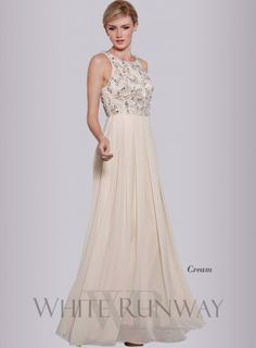 Creams, Embellished Bridesmaid Dresses, Debutante Dresses