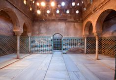 The Royal Hamman of The Alhambra of Granada ~ Alhamratour-Travel the halal way!