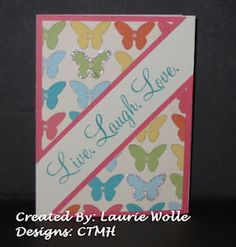 Butterfly B and T paper from Dotty For You Paper Pack