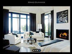 Contemporary Modern Interiors - Living Room Contemporary home decor ideas, contemporary furniture, home furniture, luxury homes, luxury furniture, high end furniture