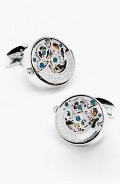 Ravi Ratan 'Kinetic Watch' Cuff Links available at #Nordstrom