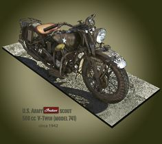 U.S. Army Indian Scout Model 741