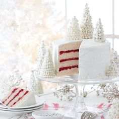 December 2015 Cover Cake: Spice Cake with Cranberry Filling