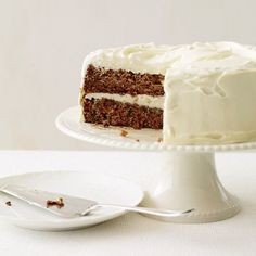 Classic Carrot Cake with Fluffy Cream Cheese Frosting | Food & Wine